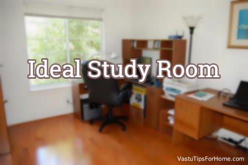 Ideal Study Room As Per Vastu Shastra - Vastu Shastra